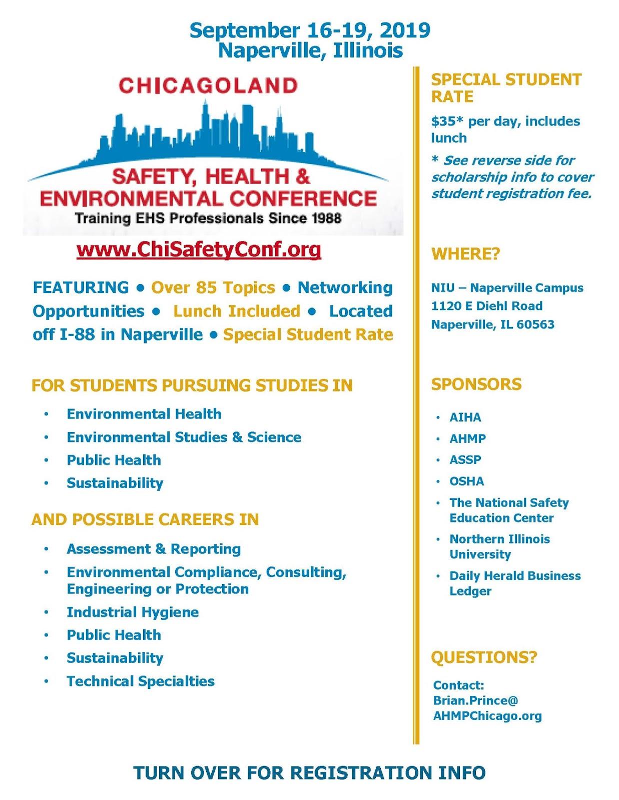 Environmental Studies Student News