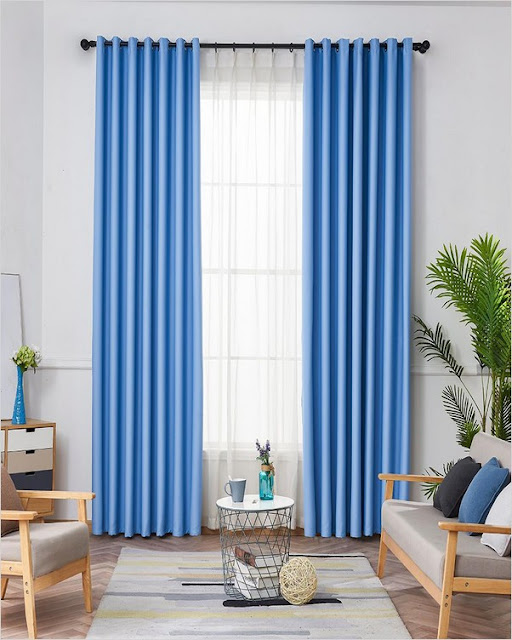 best blue light blocking window curtains