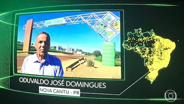"""Nova Cantu: Vereador """"Vardo"""" no quadro """"O Brasil Que Eu Quero"""""""