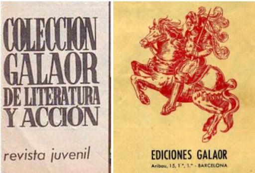 COLECCIÓN GALAOR DE LITERATURA Y ACCIÓN (Completa)