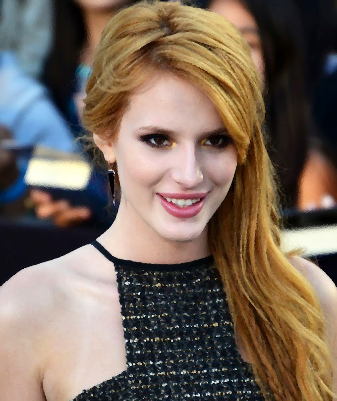 Bella Thorne shares her own nude photos on Twitter after getting threat from hacker