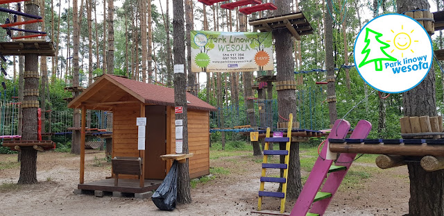 Park linowy Wesoła