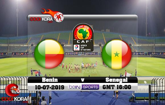 مشاهدة مباراة السنغال وبنين اليوم 10-7-2019 علي بي أن ماكس كأس الأمم الأفريقية 2019