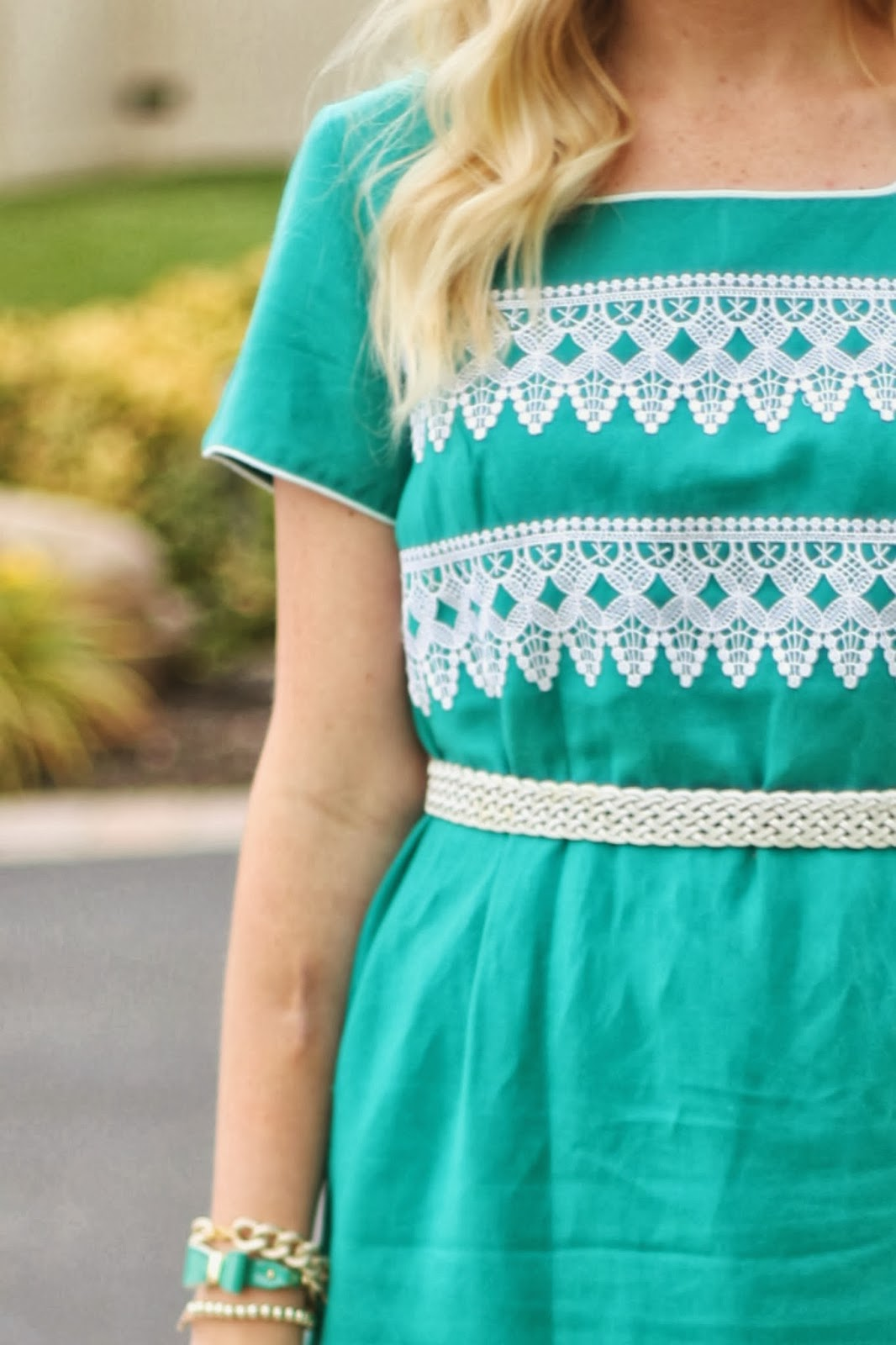 Pinned/Tried/Loved It: DIY No-Sew Lace Dress - The Pretty Life Girls