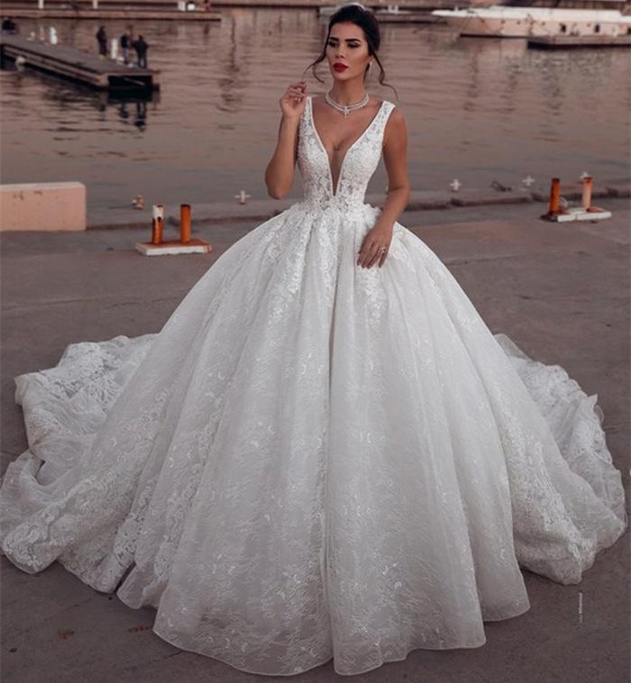 https://www.27dress.com/p/sleeveless-lace-ball-deep-v-neck-glamorous-wedding-dress-109580.html