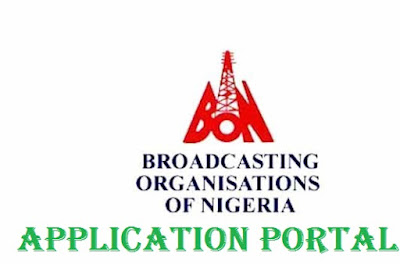 Broadcasting Organization of Nigeria Recruitment 2018 Form - BON Latest Update