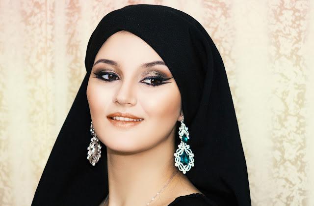 アラブ人女性の顔の特徴