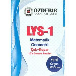 Özdebir LYS1 Matematik Geometri Deneme Sınavı
