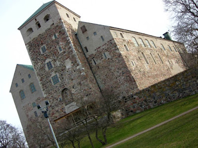 Castle of Turku in Finland