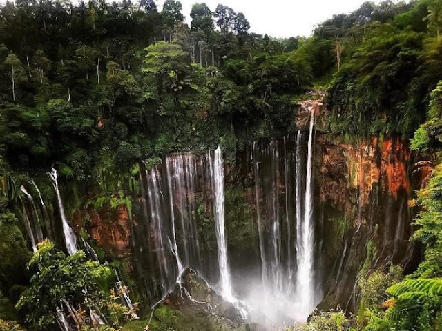 Tumpak Sewu is a popular waterfall in East Java