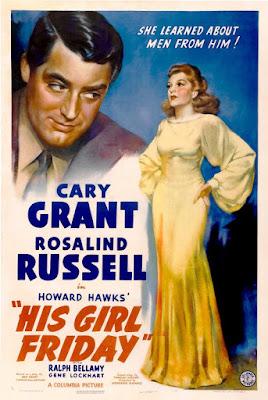 Luna nueva (His Girl Friday) - 1940 - Cartel pelicula