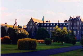 The seminary at St Patrick's College in Maynooth, where two students committed suicide in the 1800s under the suspected influence of a demonic entity