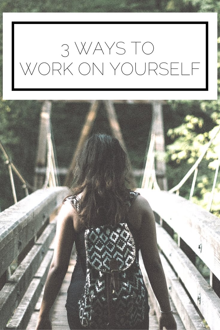 Click to read now or pin to save for later! 3 simple ways to work on yourself and refocus this week