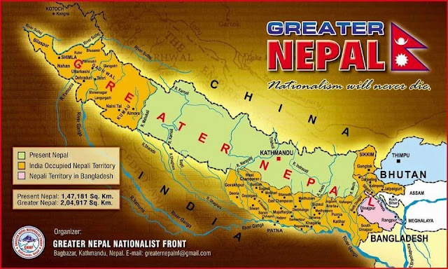Greater Nepal Map