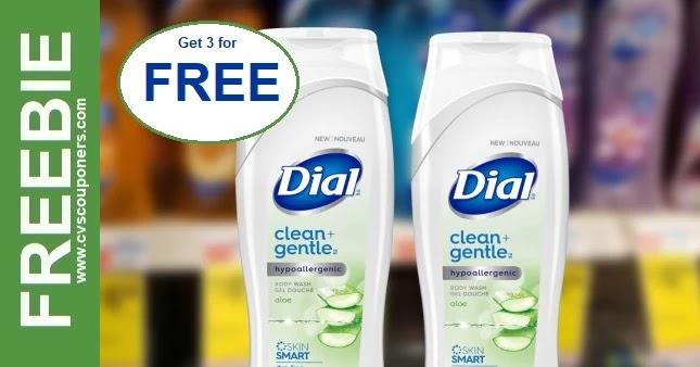 FREE Dial Body Wash CVS Deal 5-2-5-8