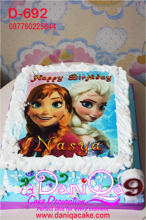Daniqa Cake And Snack Disney Frozen