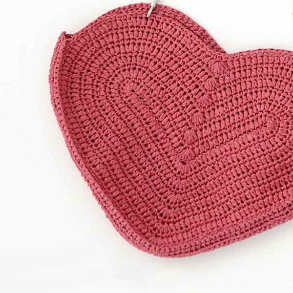 Heart Shoulder Bag Crochet Pattern ~ DIY Tutorial Ideas!