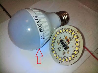 Cara Memperbaiki Bola Lampu LED Mati