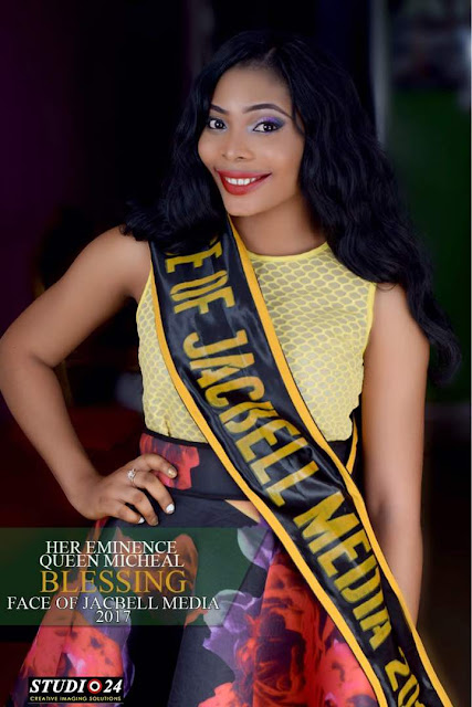 Photos: Blessing Micheal Emerges Face Of Jacbell 2017 Winner