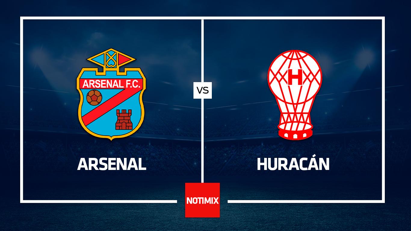 Arsenal y Huracán se despiden de la Copa Maradona sin nada en juego
