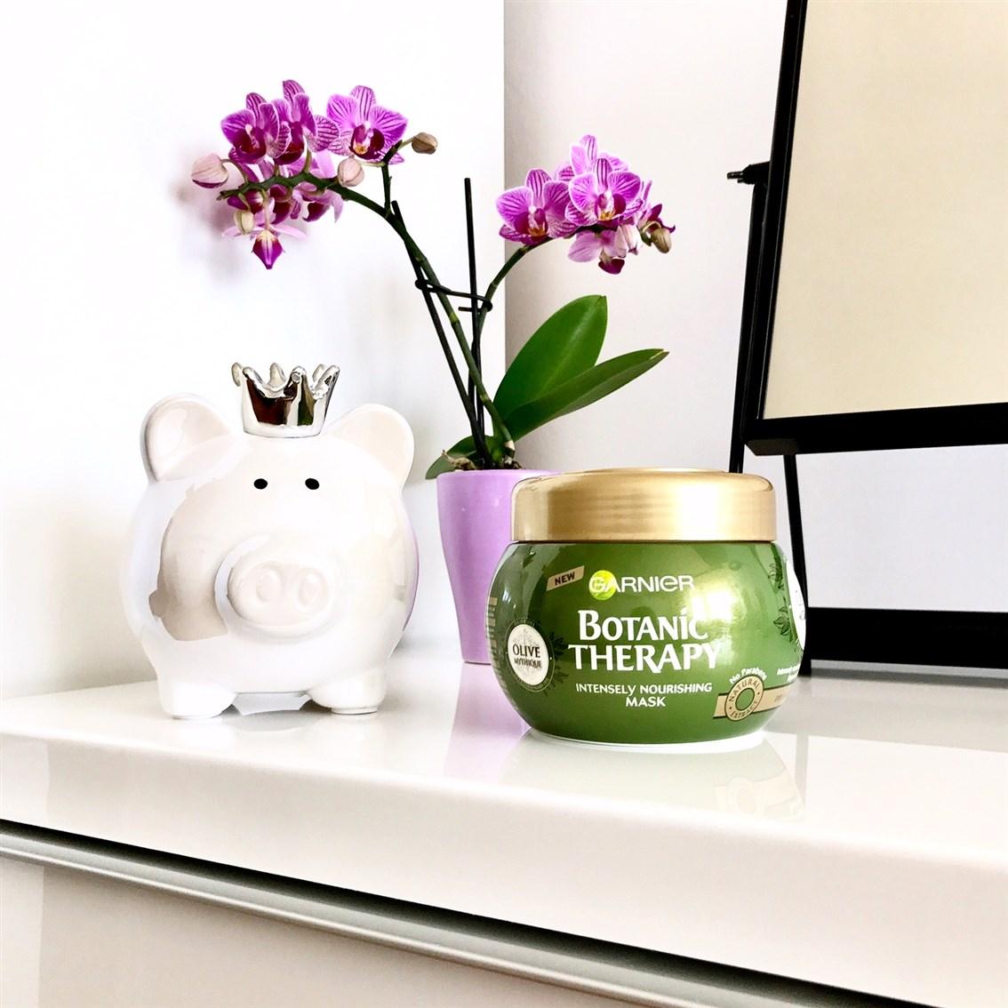 zdjęcie maski Garnier Botanic Therapy Olive