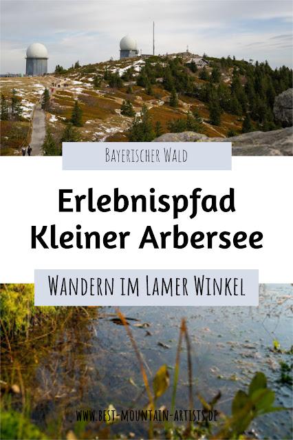 Erlebnispfad Kleiner Arbersee Lo03 | Wandern im Lamer Winkel | Bayerischer Wald | Großer Arber 30
