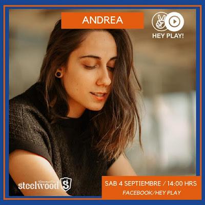 """""""Choose My way"""" el nuevo tema de Andrea ya en plataformas digitales"""