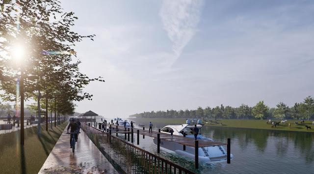 Háo hức chờ đợi 1 bến du thuyền đẳng cấp quốc tế tại dự án Sunshine Heritage Resort Phúc Thọ Hà Nội