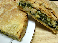 Spinach and White Bean Tart