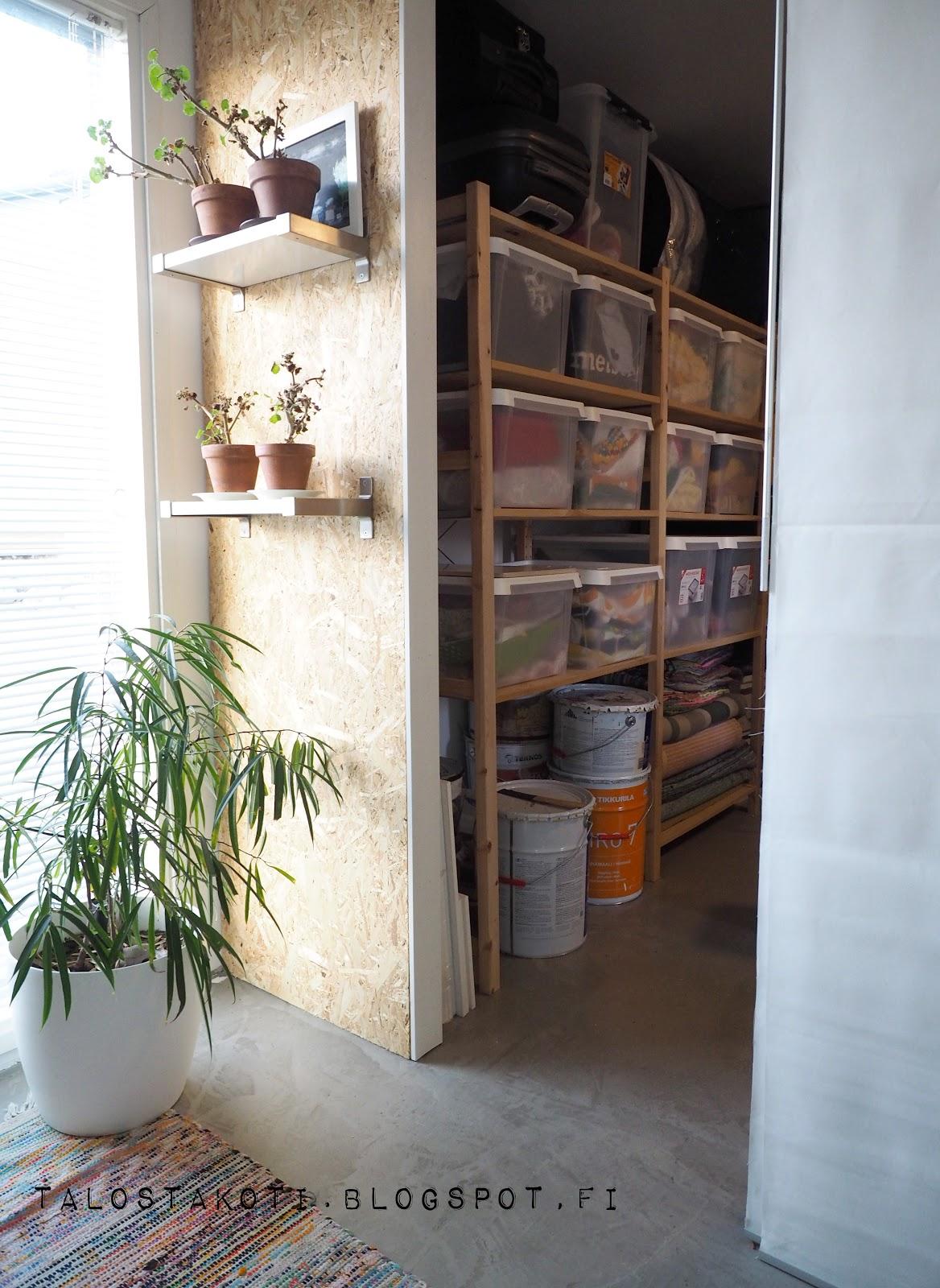 varasto, työhuone, orthex
