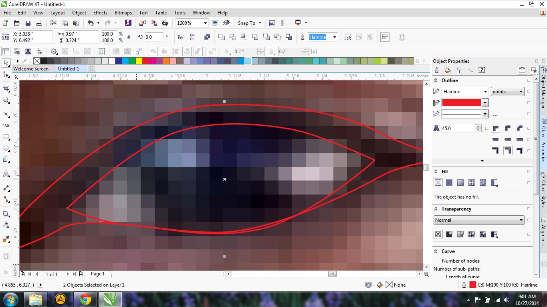 Cara Membuat Foto Menjadi Kartun Dengan CorelDRAW x4 x5 x6 ...
