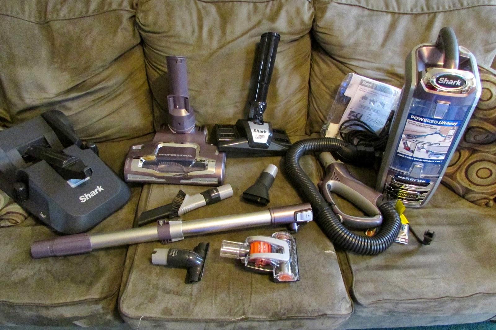 Heck Of A Bunch Shark Rotator Powered Lift Away Vacuum