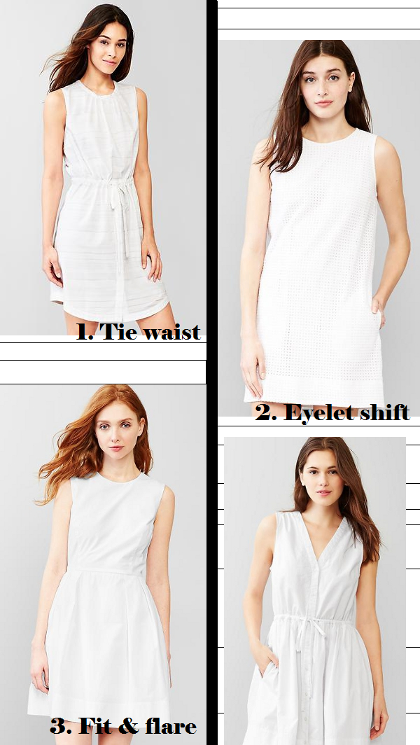 Why Gap's little white dresses are the best