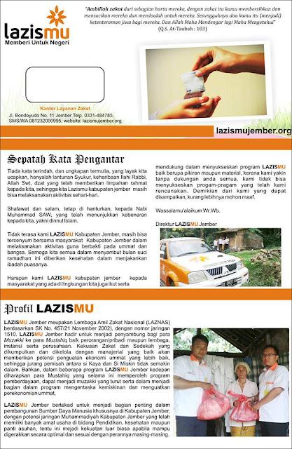 Profil Lazismu Kab. Jember Hal-1