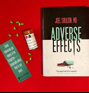Photo of audiobook with stethoscope and Bookstagram photo with pills. Operation Awesome #20Questions in #2020 of #NewBook Debut Author Joel Shulkin MD