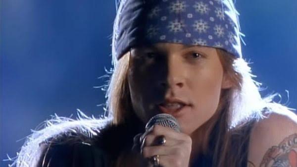 Axl Rose, vocalista da banda de Rock Guns N' Roses (Imagem: Reprodução)