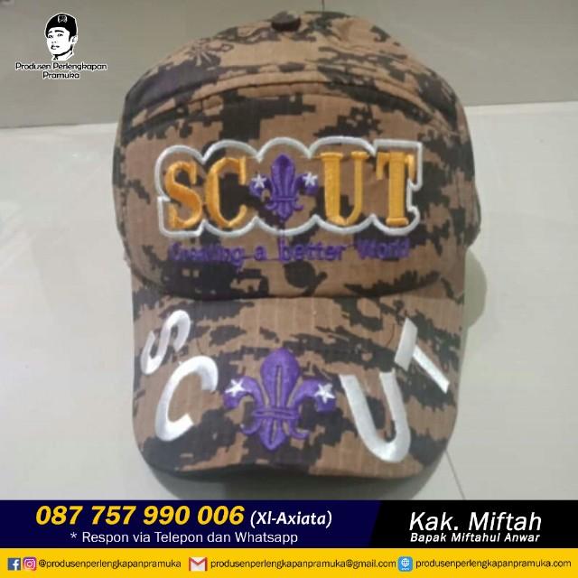 Topi Loreng Scout