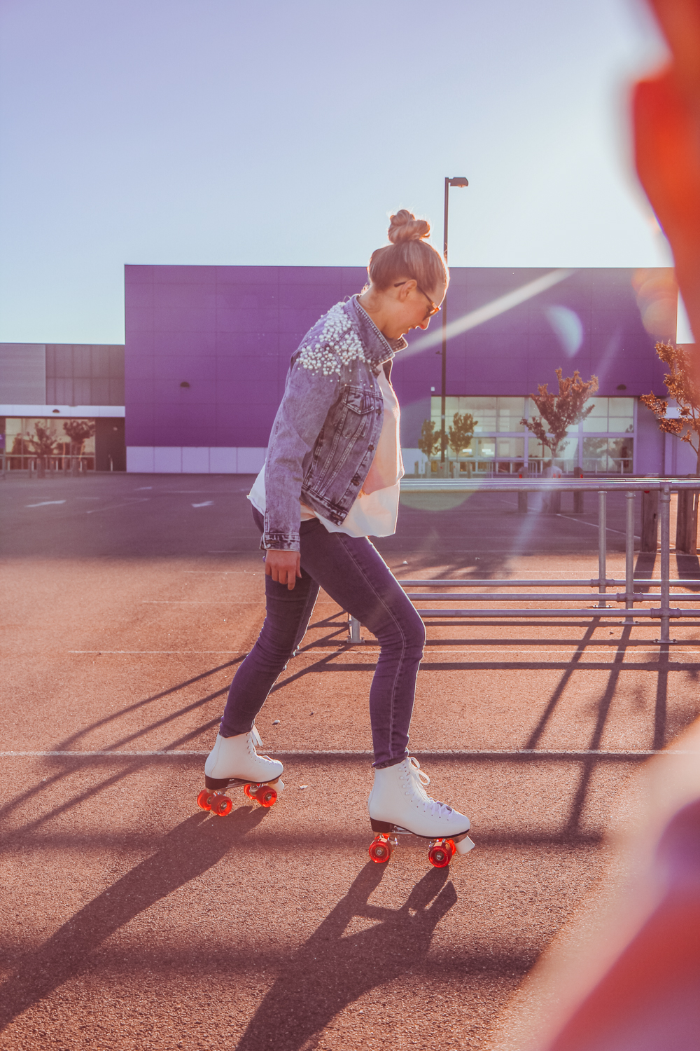 From @findingfemme | Goldfields Girl rollerskating