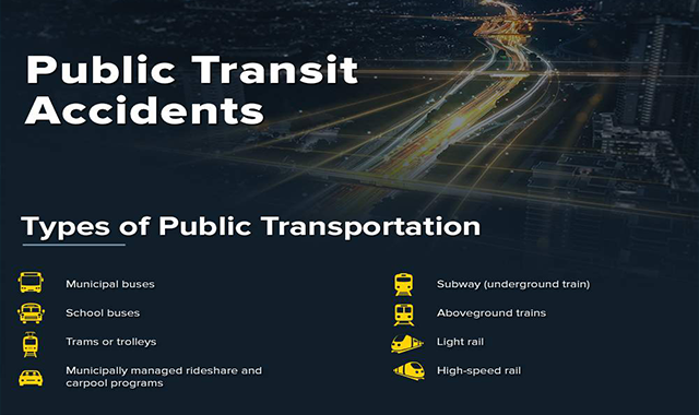 Public Transit Accidents #infographic
