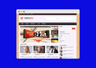 videobox blogger template free |