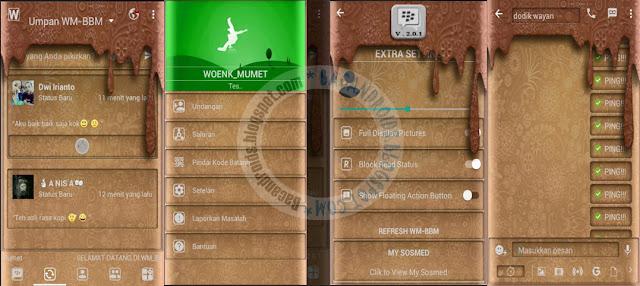 BBM WM Style Batik Meler Theme v3.2.0.6 Apk Terbaru