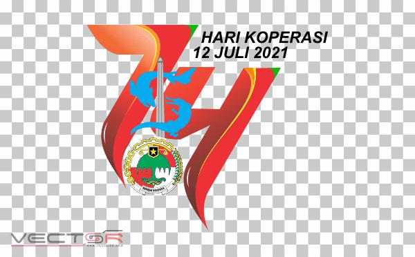 Hari Koperasi Nasional (Harkopnas) 2021 Logo - Download .PNG (Portable Network Graphics) Transparent Images