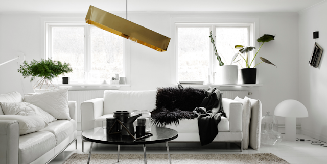 Black And White Living Rooms: Charismatic Style And Timeless ...