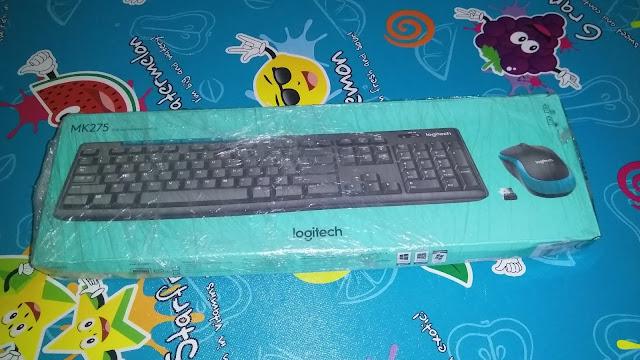 sayawrt, keyboard logitech, logitech mk275, lazada logitech