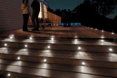 Deck Design Ideas Step Lighting