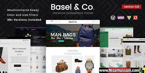 Basel Premium Responsive WordPress eCommerce Theme