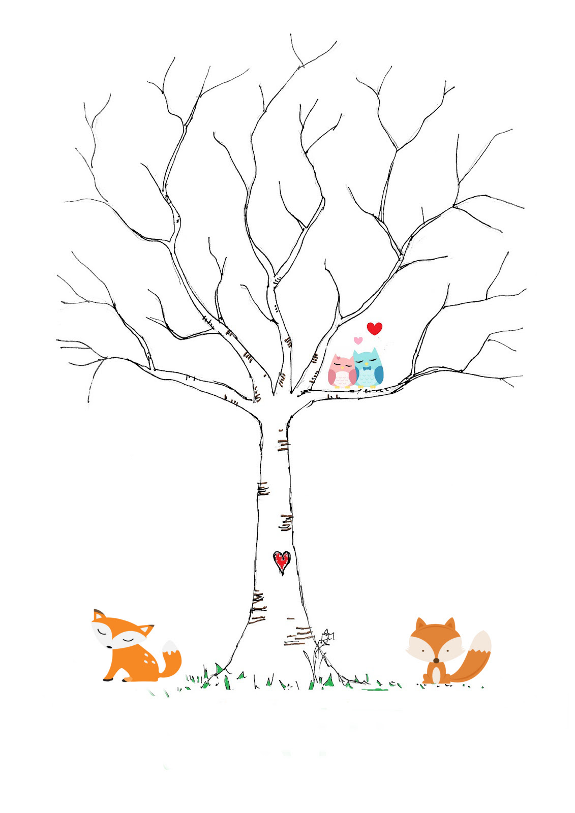 Woodland Themed Baby Shower Printables Included