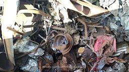 Peste 530 de tone deșeuri oprite la P.T.F. Calafat Portuar