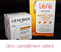 complément solaire  Oenobiol solaire intensif  et Léro solaire