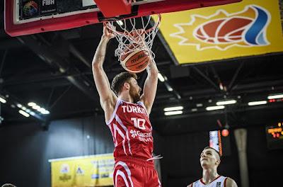 FIBA U20 Europe Türkiye - Karadağ - Onuralp Bitim